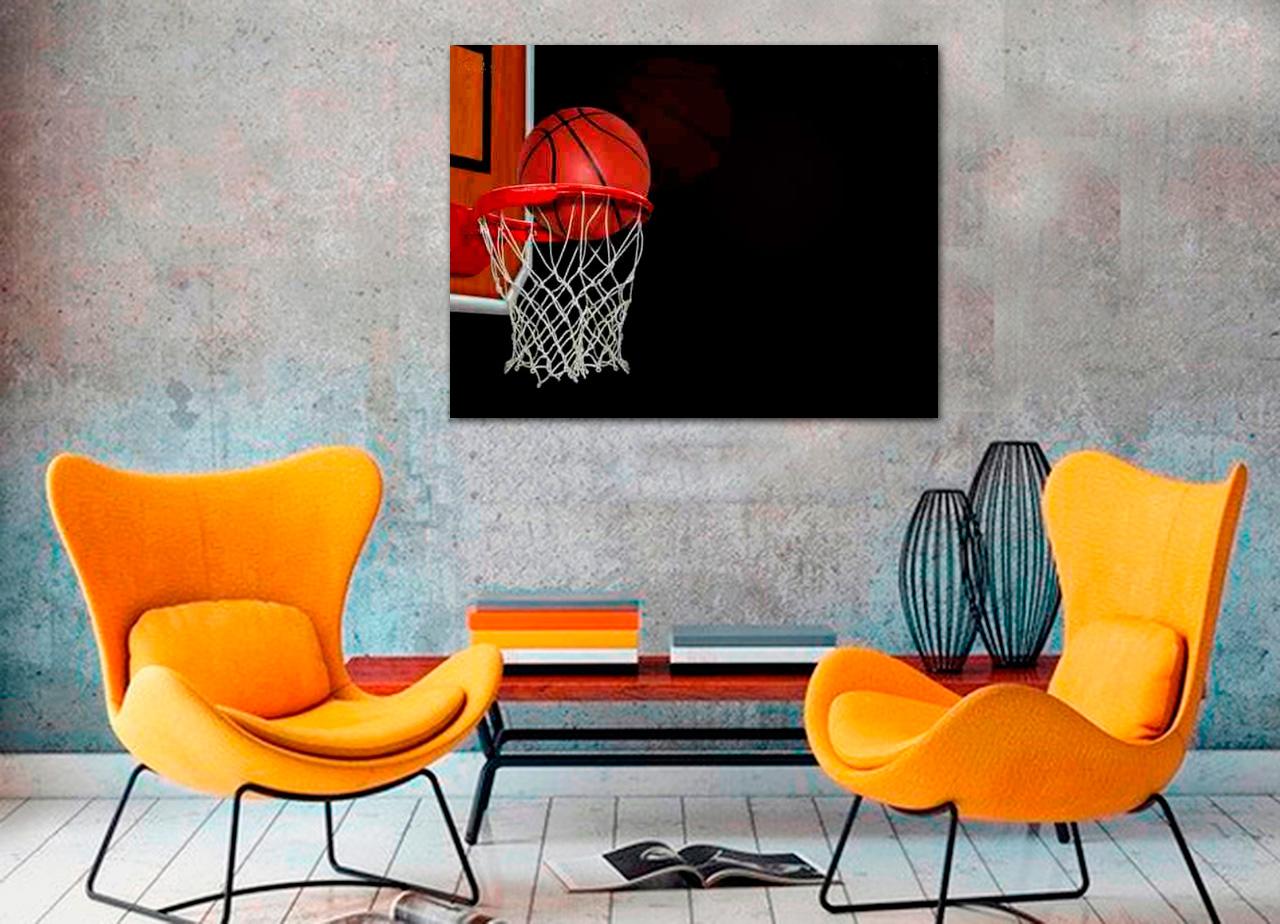 Quadro Cesto de Basket
