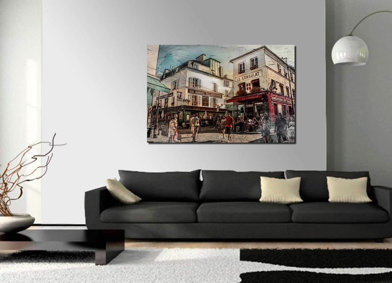 Pintura de Paris Montmartre