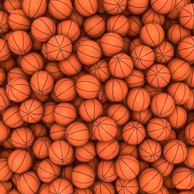 Quadro Bolas de Basquetebol