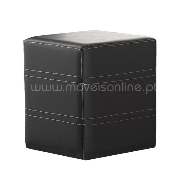 Puff Cubo Cosido Horizontal