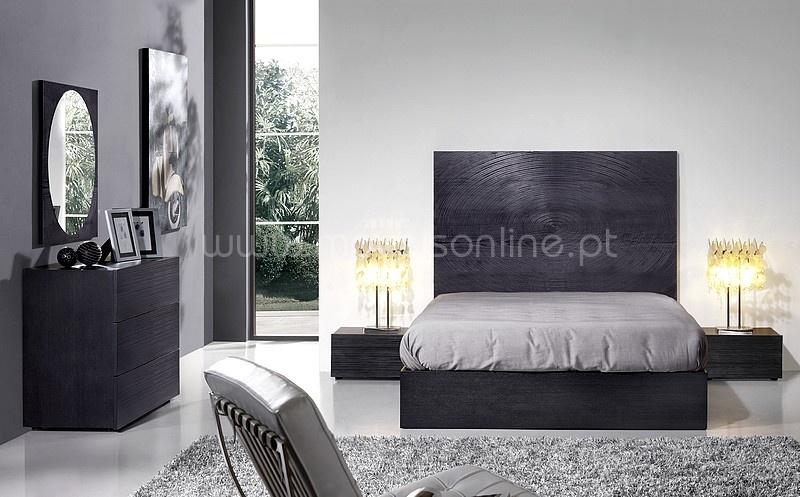Mobilia quarto de casal java black ao melhor pre o s em for Mobilia quarto casal custojusto