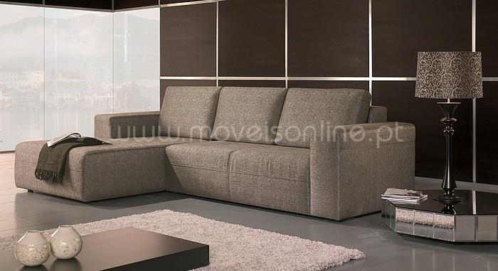 Sofa chaise longue one ao melhor pre o s em moveis online for Sofa 1 plaza chaise longue