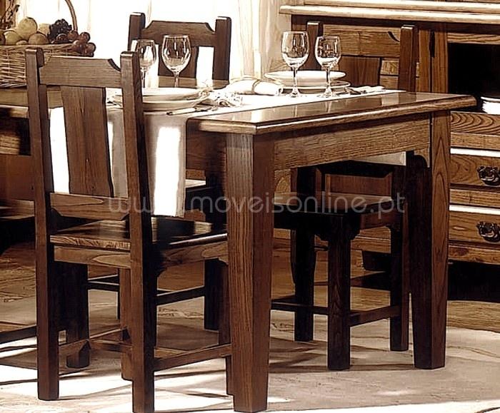 Sala De Jantar Rustica Usada ~ Compre Sala Jantar Rustica 4 Portas 17A ao melhor preço só em