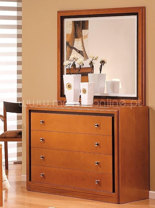 Comoda c espejo max ao melhor pre o s em moveis online for Espejos para comodas