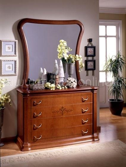 Compre comoda c moldura melia ao melhor pre o s em for Comoda con espejo ikea