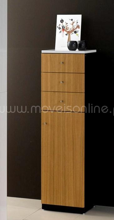 Gabinete Para Baño Sicily Ebaño: cor carvalho natural zebrano zebrano ebano ebano wengue carvalho cor