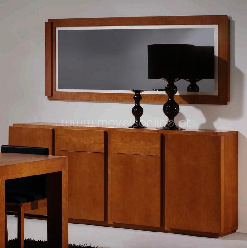 Aparador c espelho mm ao melhor pre o s em moveis online - Aparadores a medida ...