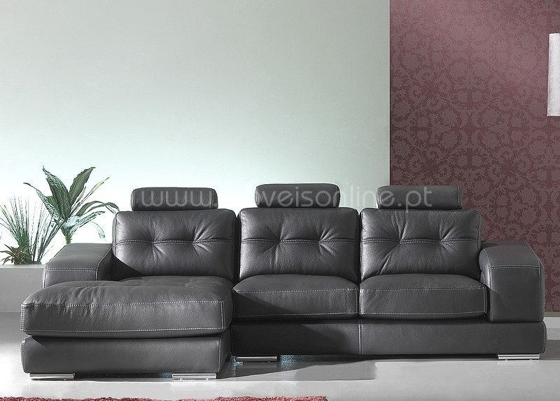 compre sofa chaise longue paris ao melhor pre o s em moveis online. Black Bedroom Furniture Sets. Home Design Ideas