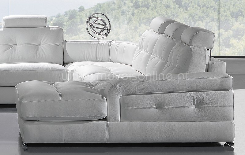 Sofa de Canto c/ Chaise Longue Paris