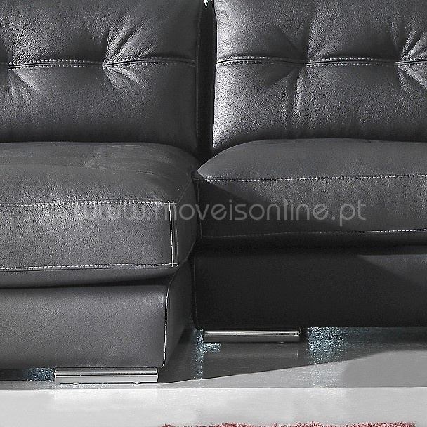 sofa chaise longue paris ao melhor pre o s em moveis online. Black Bedroom Furniture Sets. Home Design Ideas
