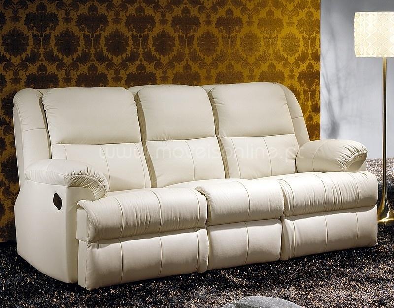 Sofa relax 3 lugares 126 ao melhor pre o s em moveis online for Sofas relax online