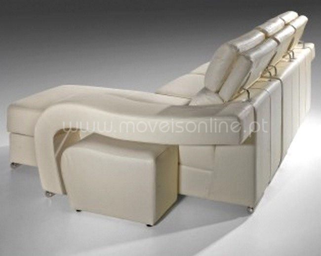 sofa chaise longue barcelona ao melhor pre o s em moveis online. Black Bedroom Furniture Sets. Home Design Ideas