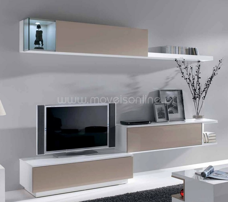 Compre estante ekko a1 ao melhor pre o s em moveis online - Deco etagere murale salon ...