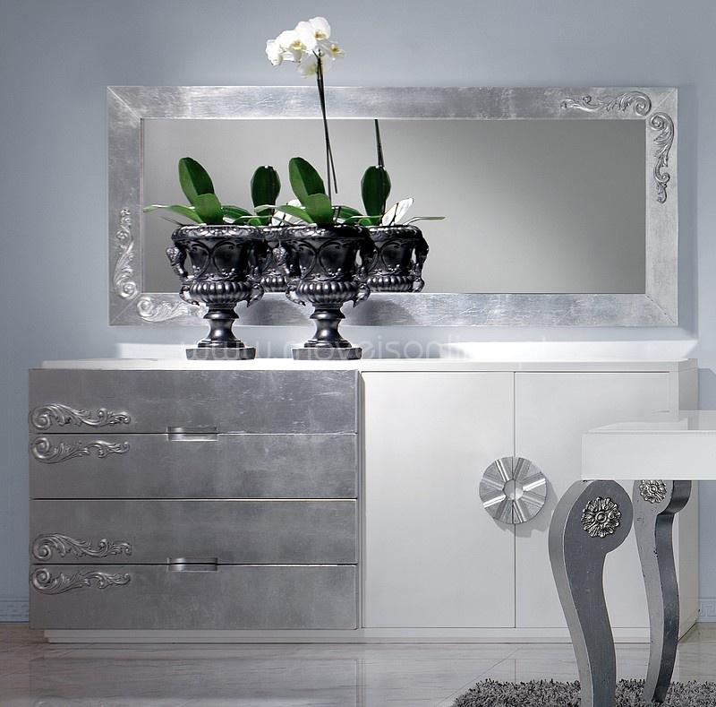 Aparador e Espelho Luxus