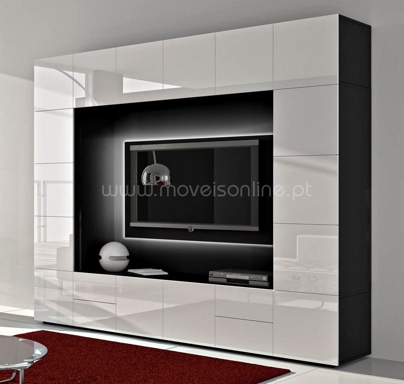 #474450 Estante Alfa ao melhor só em Moveis Online 800x761 píxeis em Bar Movel Sala Estar Moderno