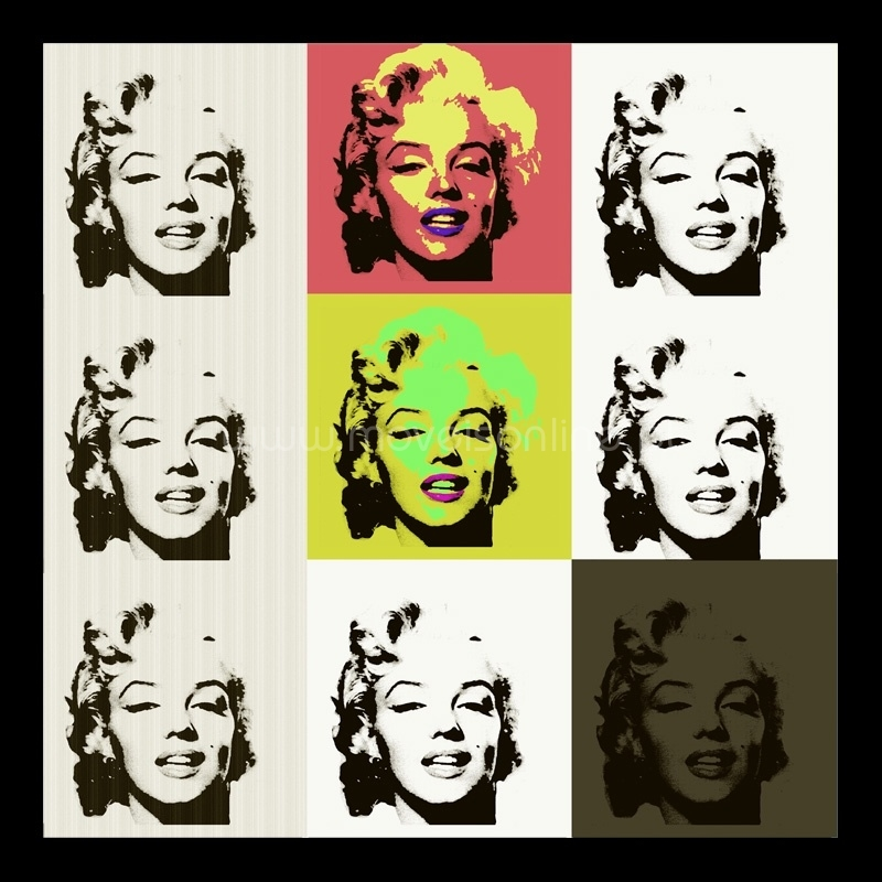 Quadro Mini Faces Marilyn Monroe