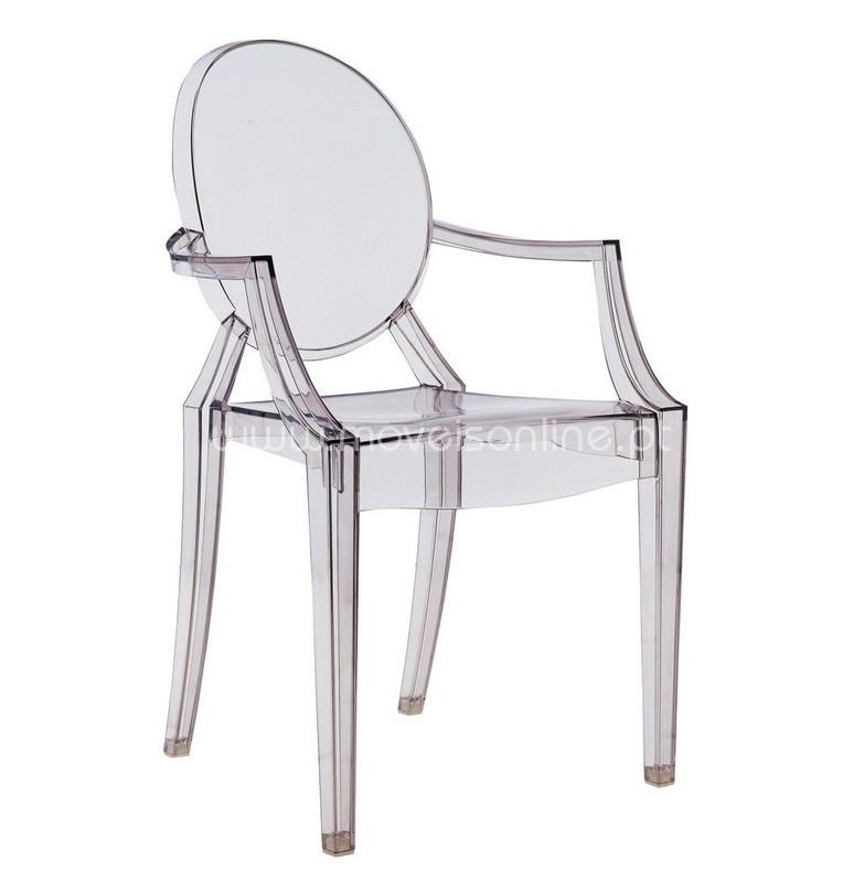 Cadeira com Braços Ghost