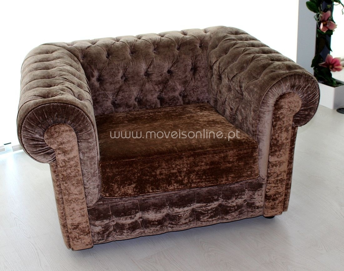 Maple Chesterfield