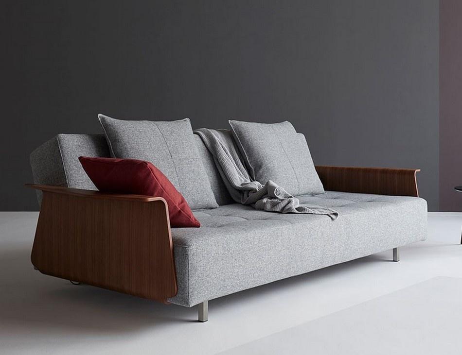 Sofa Cama Long Horn com Braços