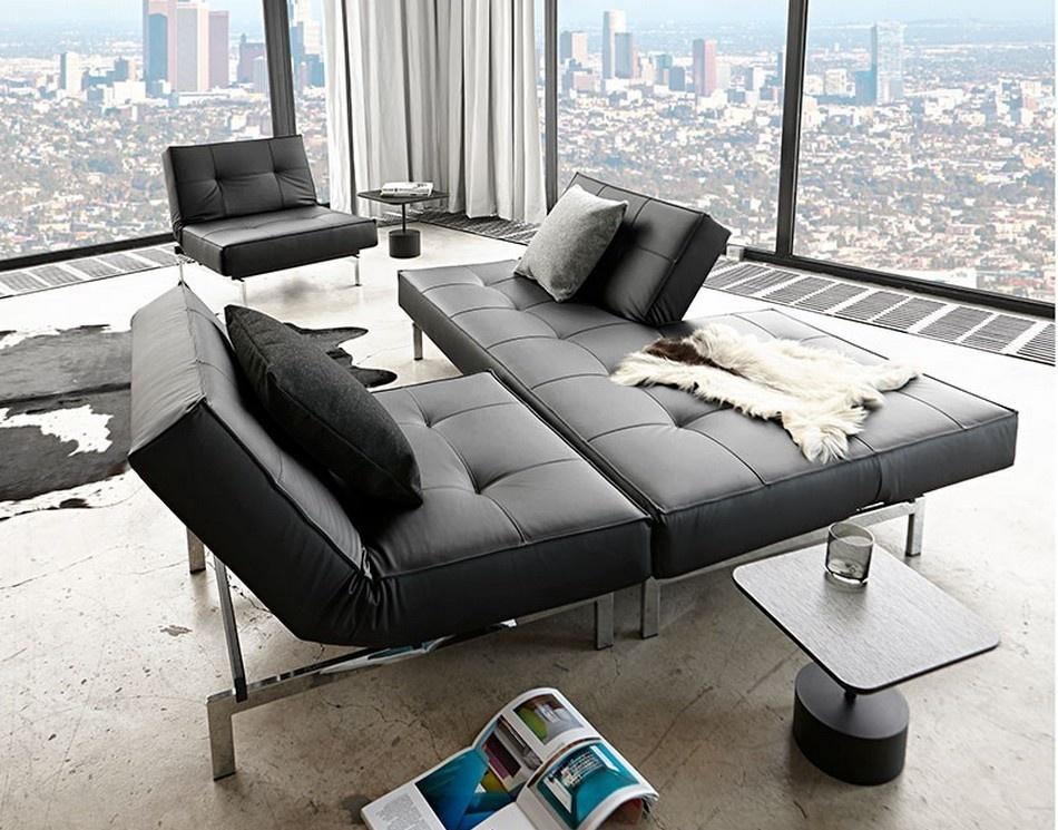 Sofa Cama Splitback Chrome
