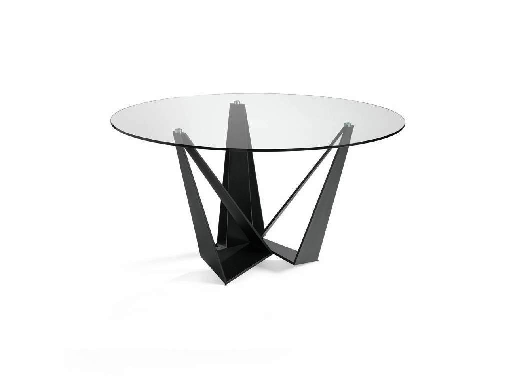 Mesa de Vidro Glass Top