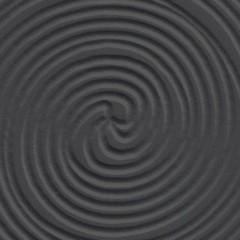 Wengue / Entalhado Espiral Preto