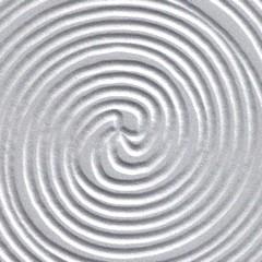 Wengue / Entalhado Espiral Prateado (Foto)