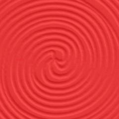 Wengue / Entalhado Espiral Vermelho