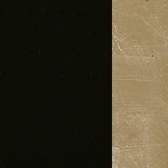 MDF / Lacado Preto + Ouro