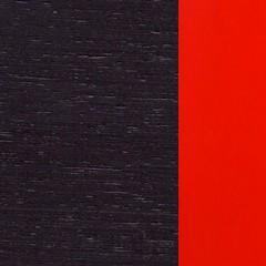Carvalho / Wengue + Lacado Vermelho