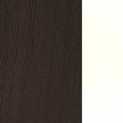 Carvalho+MDF / Cor Chocolate+Lacado Branco Brilho