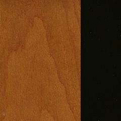 Cerejeira + MDF / Cor Cerejeira + Preto