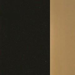 MDF / Preto + Dourado Alto Brilho