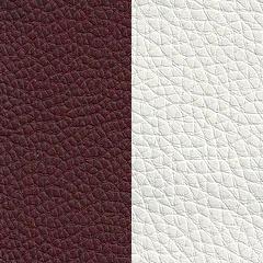 Pele Sint�tica / Castanho + Branco (igual � foto)