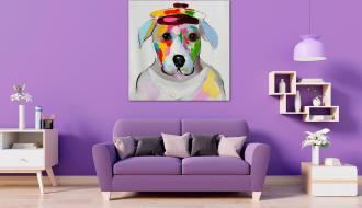Quadro Cão de Chapéu