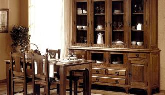Sala Jantar Rustica 4 Portas 17-A
