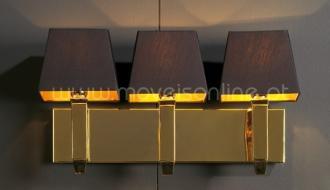 Candeeiro Prisma Ouro