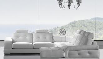 Sofa de Canto com Chaise Longue Paris