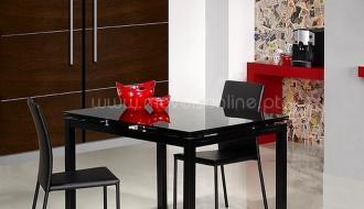 Mesa de Cozinha Extensivel Black