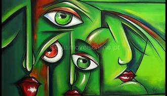 Quadro Eye and Mouth