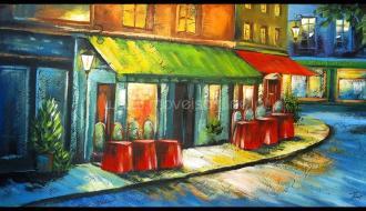 Quadro Café de Rua