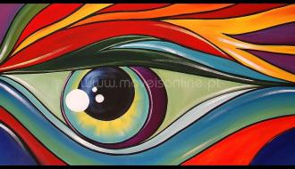 Quadro Eyes Colors