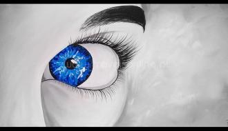 Quadro Intense Blue Eye