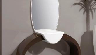 Consola e Espelho Ring