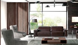 Sofa Relax 3 Lugares Choco