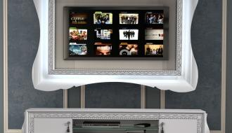 Movel Tv com Painel Nila