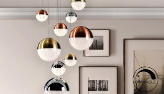 Candeeiro de Teto Dimmable Sphere