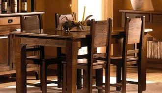 Mesa de  Jantar Rustica 17
