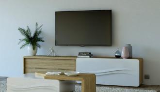 Móvel Tv Curve New II